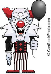Cartoon Evil Clown