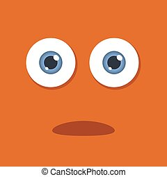 Cartoon Eye Ball - illustration of a pair of cartoon eye...