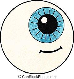 cartoon eyeball
