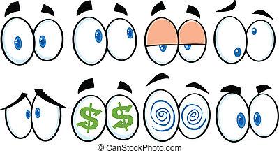 Cartoon Eyes 1  Collection