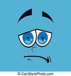 Cartoon face design