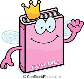Cartoon Fairy Tale Waving