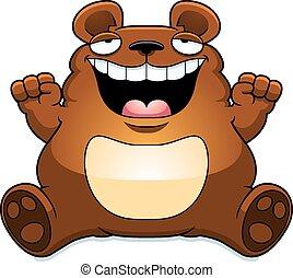 Chubby bears art