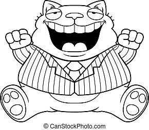 Cartoon Fat Cat Suit