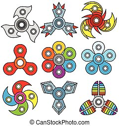 Cartoon Fidget Spinners