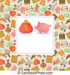 cartoon Finance & Money card