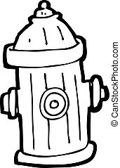 cartoon fire hydrant