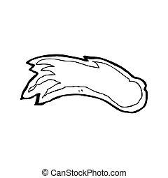 cartoon fireball