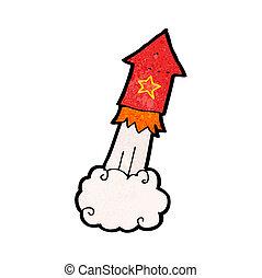 cartoon firework