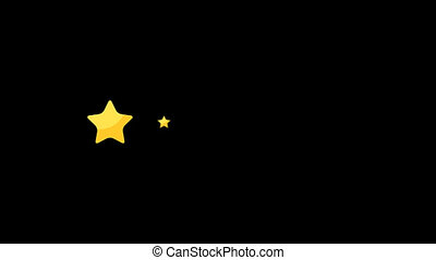 Cartoon Five Star Rating Version 1