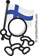 flag - cartoon flag