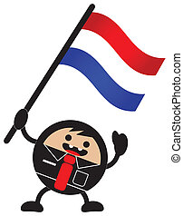 cartoon flag