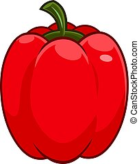 Cartoon Fresh Red Pepper