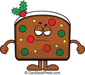 Cartoon Fruit Cake Grumpy