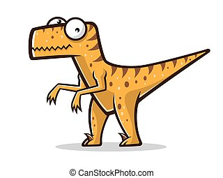 Cartoon Funny Raptor