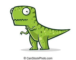 Cartoon Funny T-Rex