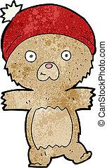 cartoon funny teddy bear
