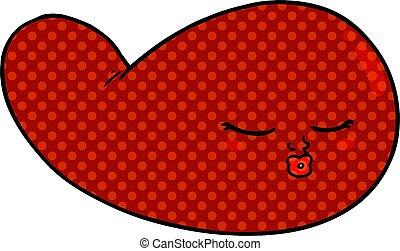 cartoon gall bladder
