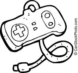 cartoon game controller
