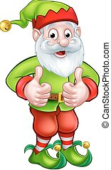 Cartoon Garden Gnome