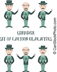 Cartoon Gentleman, Set