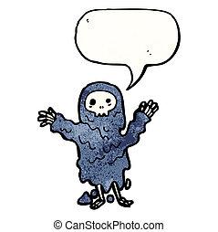 cartoon ghoul