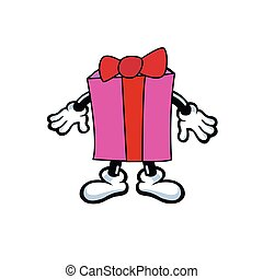 cartoon gift box