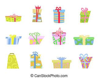 cartoon gifts box