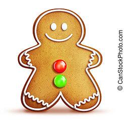 Cartoon Gingerbread Man