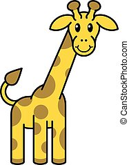Cartoon Giraffe Animal