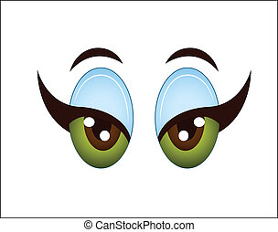 Cartoon Girl Eye