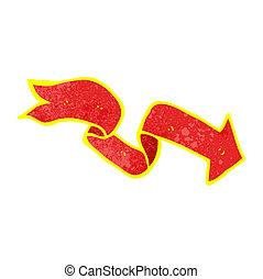 cartoon glowing arrow
