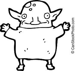 cartoon goblin