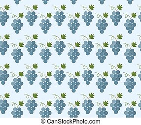 Cartoon grapes pattern