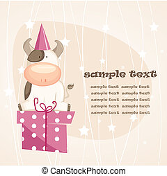 cartoon greeting card