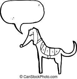 cartoon greyhound