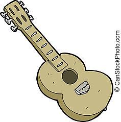 cartoon guitar