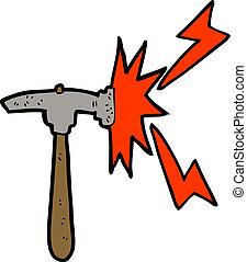 cartoon hammer