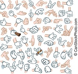 Cartoon Hands Pack 2