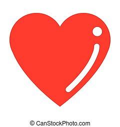 cartoon heart icon