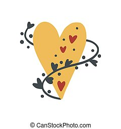 Cartoon Heart vector
