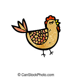 cartoon hen