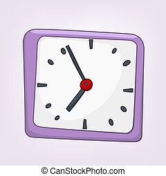 Cartoon Home Clock