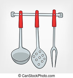 Cartoon Home Kitchen Spoon Set