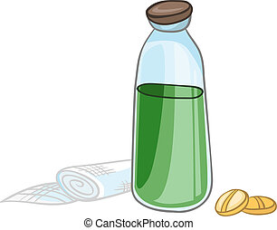 Cartoon Home Medicine Pills