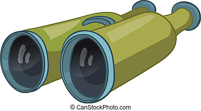 Cartoon Home Miscellaneous Binocular