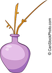 Cartoon Home Vase