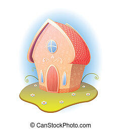 cartoon home
