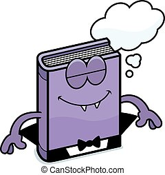Cartoon Horror Novel Dreaming