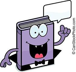 Cartoon Horror Novel Talking